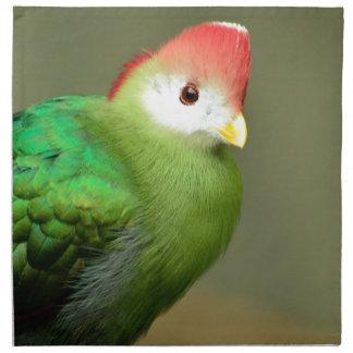 Pájaro exótico servilletas de papel