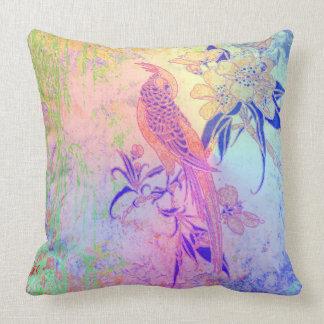 Pájaro feliz almohada