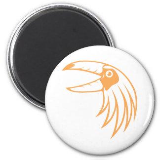Pájaro feliz de Toucan Imán Redondo 5 Cm