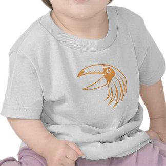 Pájaro feliz de Toucan Camisetas