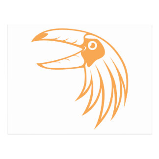 Pájaro feliz de Toucan Tarjetas Postales