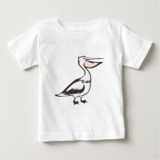 Pájaro feliz del pelícano camisas