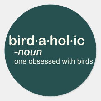 pájaro HOL ic Pegatina Redonda