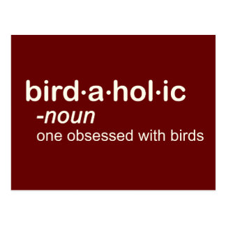 pájaro HOL ic Tarjeta Postal