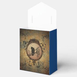 Pájaro impresionante cajas para detalles de boda