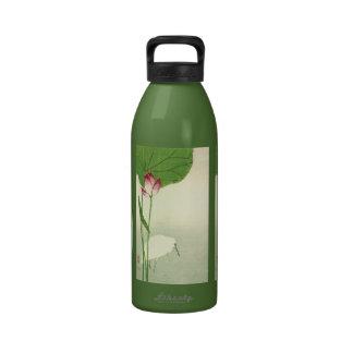 Pájaro japonés del siglo XIX Botellas De Agua Reutilizables
