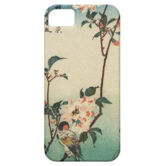 Pájaro japonés en la caja del teléfono de la rama funda para iPhone SE/5/5s