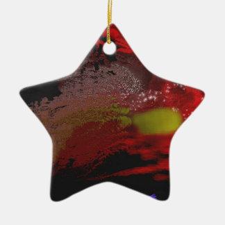 """""""Pájaro libre: 2999"""" ornamento de la estrella Adorno De Navidad"""