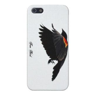 Pájaro libre iPhone 5 fundas