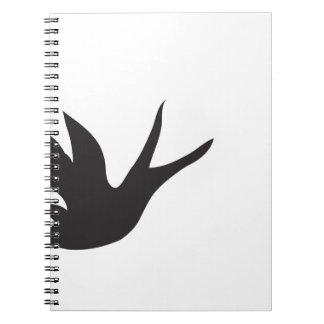 Pájaro Libreta Espiral