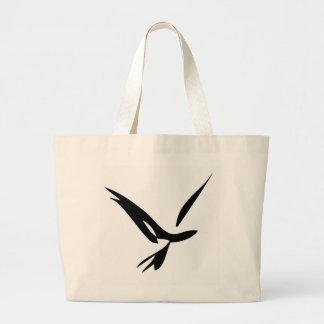 Pájaro liso bolsa