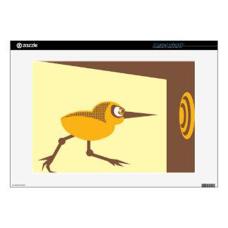 Pájaro loco calcomanía para portátil