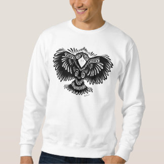 Pájaro loco pulóver sudadera