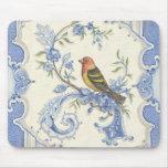 Pájaro Mousepad del Chinoiserie de Kate McRostie