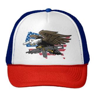 Pájaro nacional gorros bordados