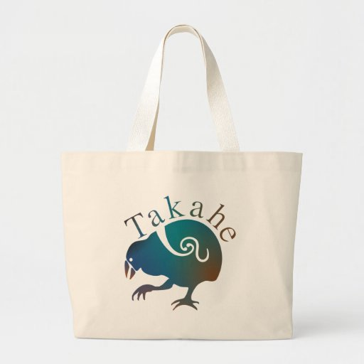 Pájaro nativo Flightless de Takahe Nueva Zelanda Bolsas