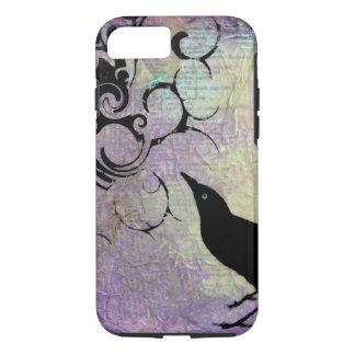 Pájaro negro funda iPhone 7