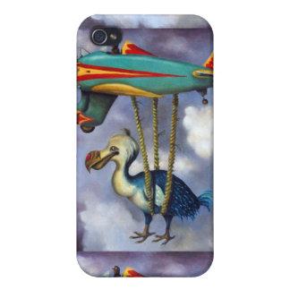 Pájaro perezoso, detalle perezoso del avión del pá iPhone 4 carcasa