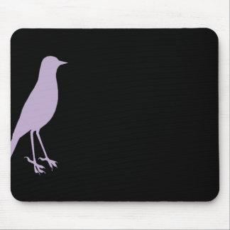 Pájaro púrpura Mousepad Tapetes De Ratones