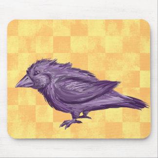 Pájaro púrpura alfombrillas de raton