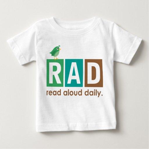 Pájaro RAD - En voz alta leído regalo diario de la Camisetas