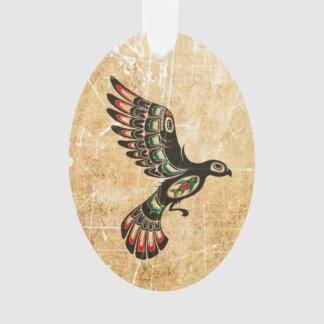 Pájaro rasguñado y llevado del alcohol del Haida q