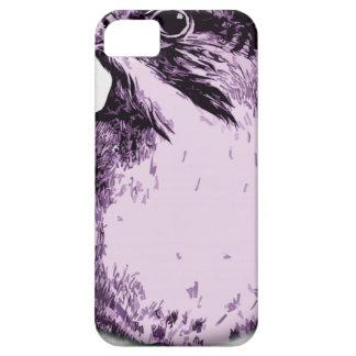 pájaro redondo 60 iPhone 5 fundas