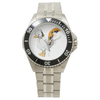Pájaro reptil Koi-Coloreado Relojes De Mano