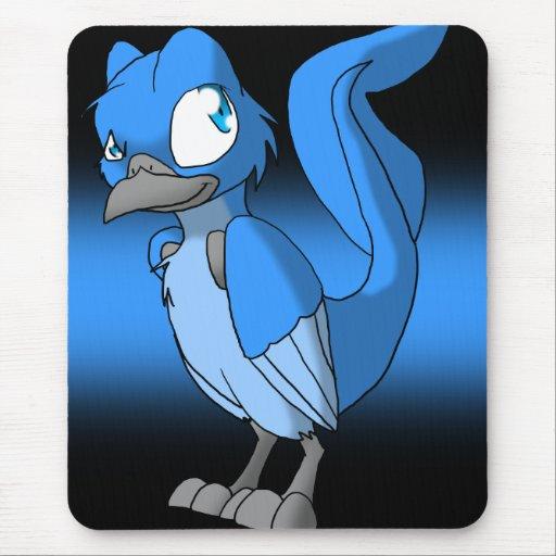 Pájaro reptil Mousepad de Recolourable Alfombrilla De Ratones