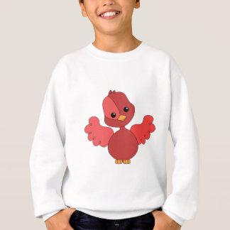 Pájaro rojo del alboroto sudadera
