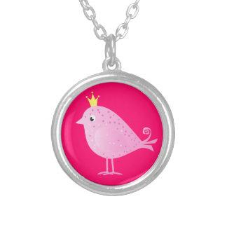 Pájaro rosado dulce - collar