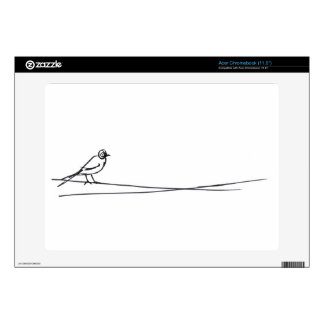 pájaro skins para acer chromebook