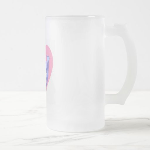 pájaro taza cristal mate