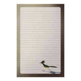 Pájaro temprano, efectos de escritorio  papeleria de diseño