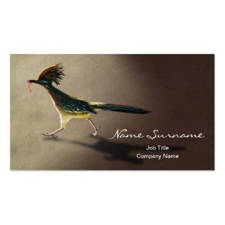 Pájaro temprano, plantilla de la tarjeta de visita