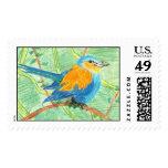 Pájaro tropical sellos