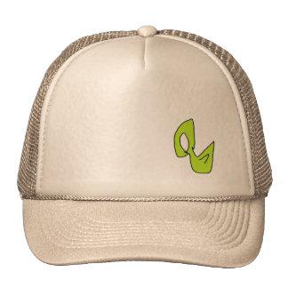 Pájaro verde gorras de camionero