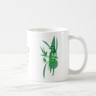 Pájaro verde, pájaro verde, GreenBird Tazas De Café