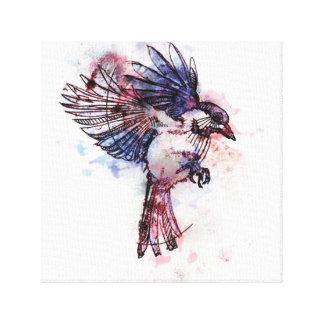 Pájaro Vol1 Impresión En Lienzo