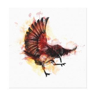 Pájaro Vol2 Impresión En Lienzo