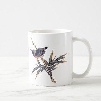pájaro y bambú 2 taza clásica