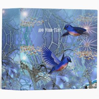 Pájaros azules mágicos 2 de la carpeta