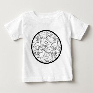 PAJAROS BLANCOS CIRCULO NEGRO PRODUCTS BABY T-Shirt
