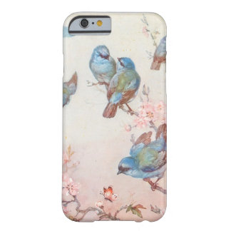 Pájaros bonitos funda de iPhone 6 barely there