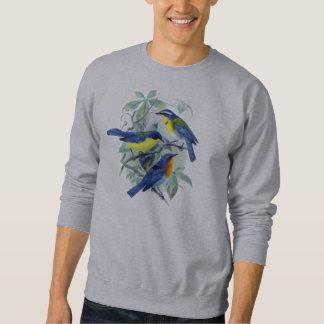 Pájaros cantantes florales ropa y regalos del sudadera