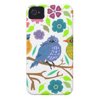 Pájaros Carcasa Para iPhone 4