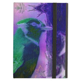 Pájaros color de rosa, abstractos
