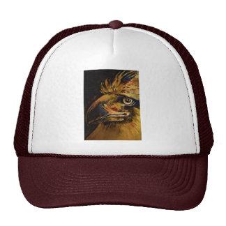 """Pájaros coloridos cabeza y pico (aceite """"viejo"""") gorras de camionero"""
