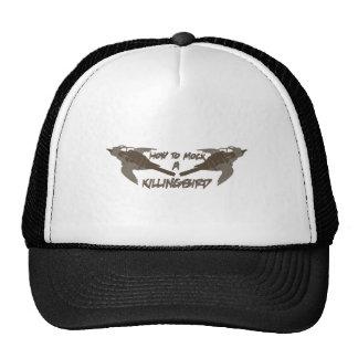Pájaros cruzados gorras de camionero