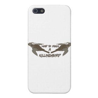 Pájaros cruzados iPhone 5 fundas
